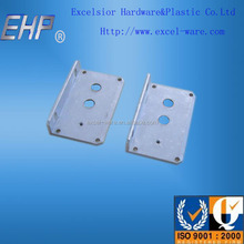 OEM ODM white paint sheet metal fabrication bending parts custom aluminum bending stamped parts
