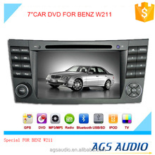 "7""special touch screen for Mercedes-Benz w211 Car radio with DVD Player GPS navigation bluetooth RDS SD"