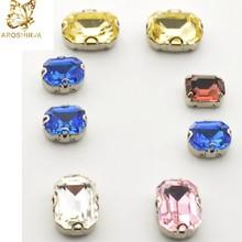 Loose Crystal Wholesale Light Peach Colored Fancy Shaped Rhinestones 6*8 Pearshape 4003 Fancy Shaped Crystal Stones