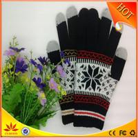 3 fingers Touch Screen Gloves Winter Glove igloves