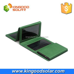 Foldable fexible solar panel 8000Amh with 2 adaptors used for outdoor and mobile