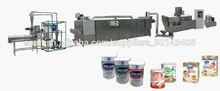nutricional máquina del alimento del arroz / bebé línea de la máquina / línea de procesamiento de polvo de arroz para bebés