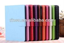 "Shine PU Leather Case Cover Skin For Apple Ipad MINI 7""tablet case"