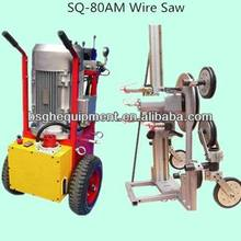best selling world famous SQ-80AM automatic hydraulic concrete wire saw machine