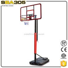 height asjustable solid pole basketball training equipment
