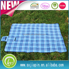 Fashionable promotional polyester blanket picnic blanket