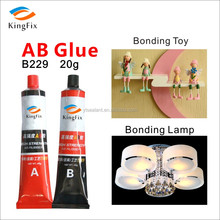 ab part glue lamples and LED
