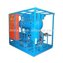 High voltage vacuum transformer oil injection system