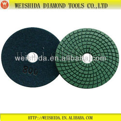 """china rubber 4"""" wet marble polishing pads,wet pads 4"""""""