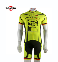 fluorescence color cycling jersey and shorts set bicycle riding clothes club cycling wear