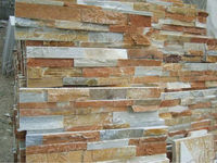 piedra decorativa interior/slate wall cladding from China manufacturer