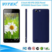 China Supplier 5 inch 3G Android Slim 6.45mm Low Price Big Screen Mobile Phones