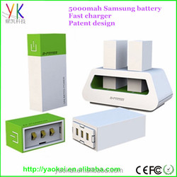 2015 new design fast charged high quality Power Bank