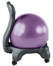 2014 novo elegante e gracioso exercício bola cadeira bola de ginástica rítmica