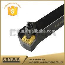 cnc metal lathe part knurling tool internal turning tool