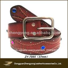 hombres de diamante falso cinturones