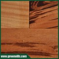Tigerwood pisos de madera dura uv lac/aceite suave t&g ab grado china precio de fábrica