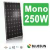 monocrystal solar panels 250 watt with ISO CE TUV CE certificates