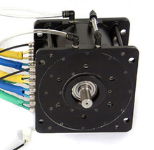 brushless dc motor controller with sine wave controller