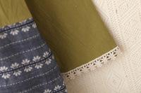 внешней торговли новой платье Мори Японский женский хлопок печатных хлопка с длинным рукавом платье ребенка женщин