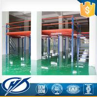 Low Price Q235 Steel Used Pallet Rack Supported Steel Mezzanine Floor