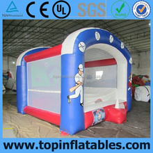 Inflatable baseball cage sport games