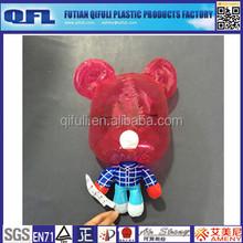 Plastic Inflatable Popobe Bear, Custom Inflatable Toys
