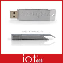 Fashion 16GB Slide Metal USB Flash Disk