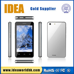 IDEA mobile phone 4inch MTK6572 cheap china smart cell mobile phone dual core android phone