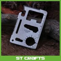 ST Wholesale outdoor pocket camping knife survival tool saber credit card knife