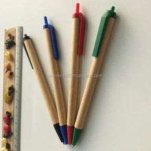 recycled paper ballpoint pen wholesales with customized logo printing