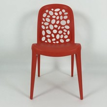Famous Plastic Leisure Designed Dining Chair