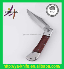 """Hot sales 4"""" clasp knife with wood handle"""