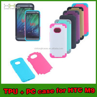 New Style TPU+PC Plastic Case for HTC M9, Case For HTC TPU+PC