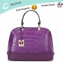 Wholesale Import China GuangZhou Fashion Women Korean PU Leather Handbag Tote Bag