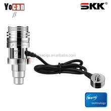 yocan beta electric cigarette pure metal controllable by size/wattage dry herb atomzier , wax vapourizer