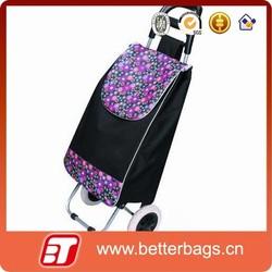 High quality vegetable shopping trolley bag &laptop trolley bag