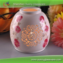 New Arrived Printing Ceramic Candle Warmers