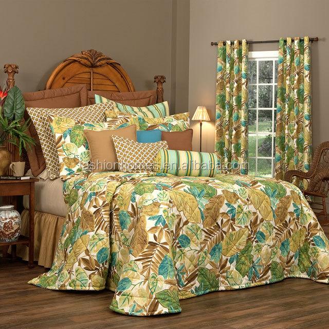 maisons de mode couvre lit et rideaux assortis couette id de produit 60020951701. Black Bedroom Furniture Sets. Home Design Ideas