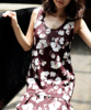 Low Price Elegant Shape Wholesale Red Color Dress