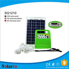 Energy saving high power make a solar system model low price