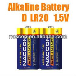 LR20 alkaline battery 1.5v D dry battery