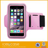 Pink waterproof running armband case, cell phone Pink armband for iPhone 5s