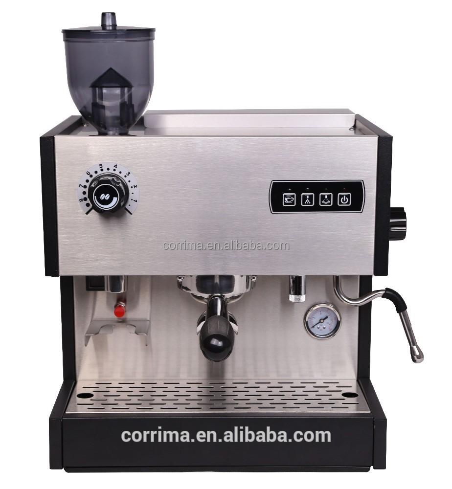 built in grinder coffee machine