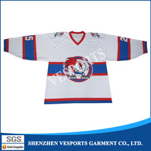 OEM printing manufacture youth team ice hockey jersey