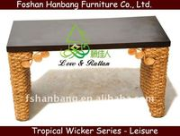 Chinese-Flavoured Water Hyacinth Dressing Table