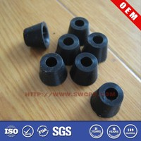 Custom mold anti slip insertable rubber bumper for furniture