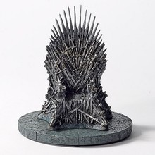 2015 GAME OF THRONES IRON THRONE REPLICA polyresin statue making,custom poly resin statue figure produce