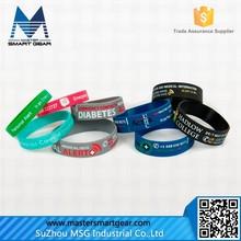 HOT Silicone Wrist Band/Personalized Silicone Bracelet/Silicone Rubber Bracelet
