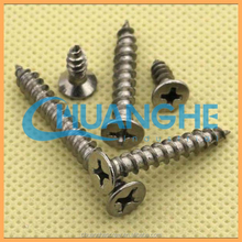 self tapping screw with flat tail